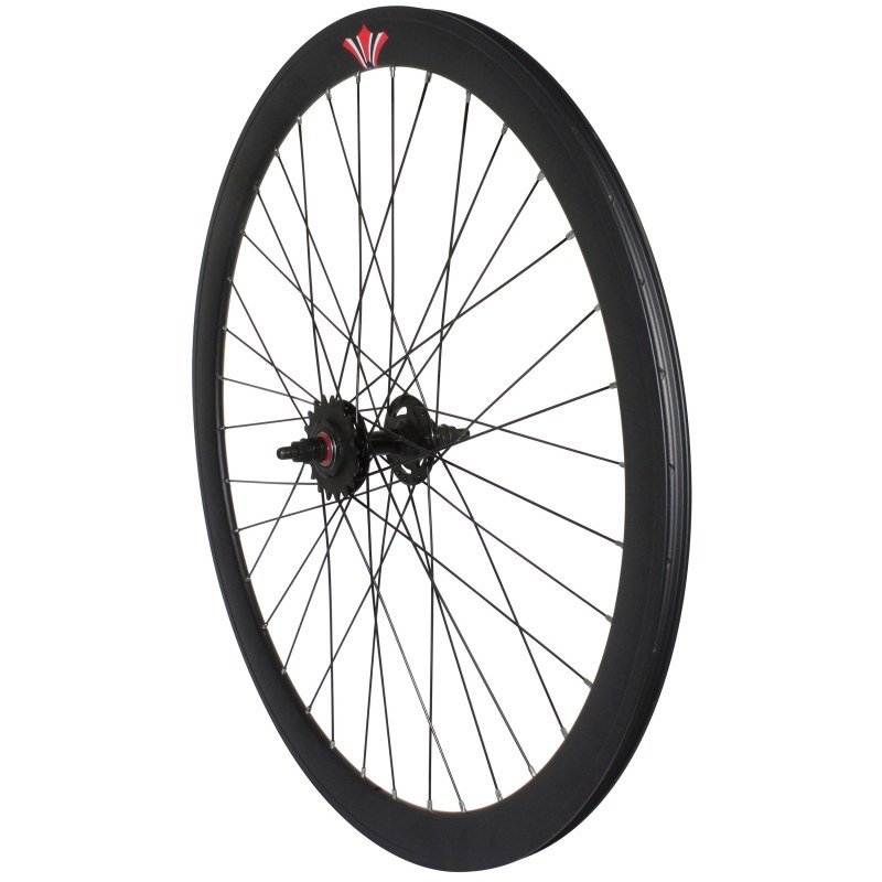 roue singlespeed 43 route fixie double filetage jante 43 mm. Black Bedroom Furniture Sets. Home Design Ideas
