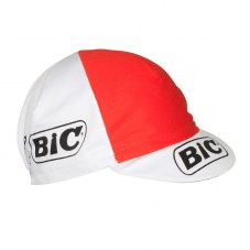 Casquette Equipe vintage BIC Route Unique Adulte H/F Blanc/orange