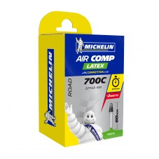 Chambre à air MICHELIN Aircomp latex Valve 60 mm Compétition Route 700x23 A1