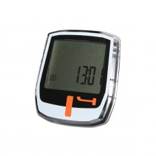 Compteurs NEWTON T4 A fil Noir/blanc bouton orange 4 fonctions