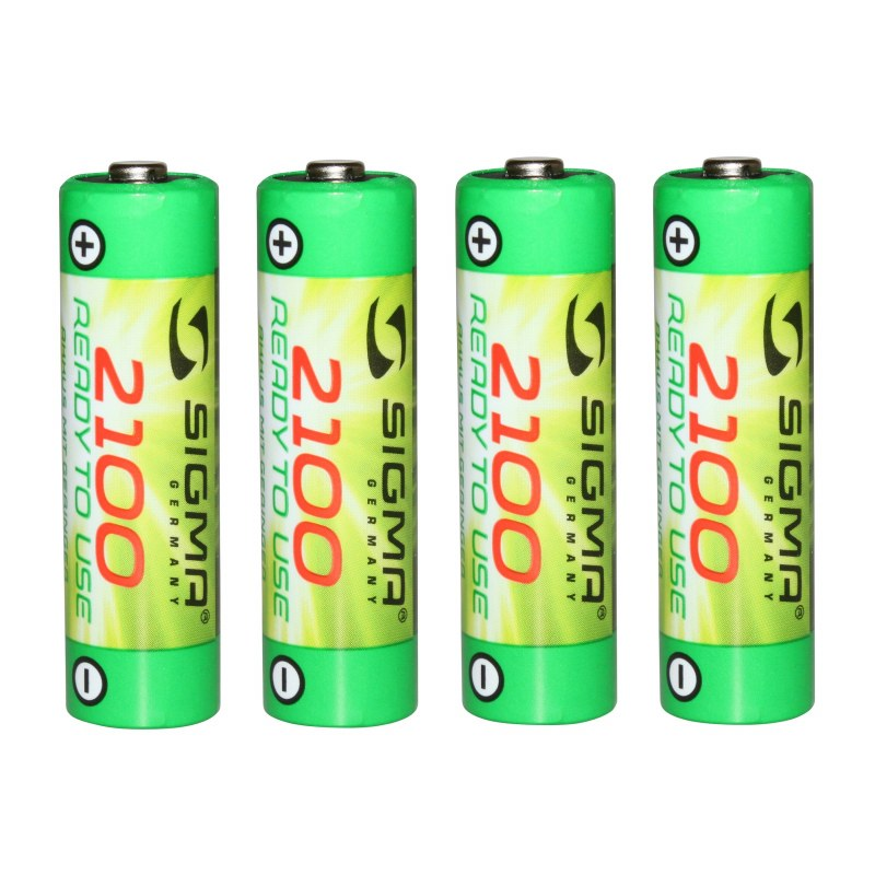 Pile Rechargeable SIGMA AA 2100 mah Pour lightster/smilux et pava