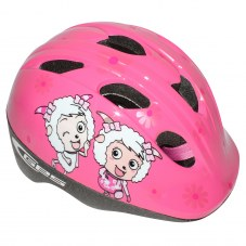 Casque GES Cheeky girls City XS/M 46/53 Enfant Rose Avec système turnlock 230 g