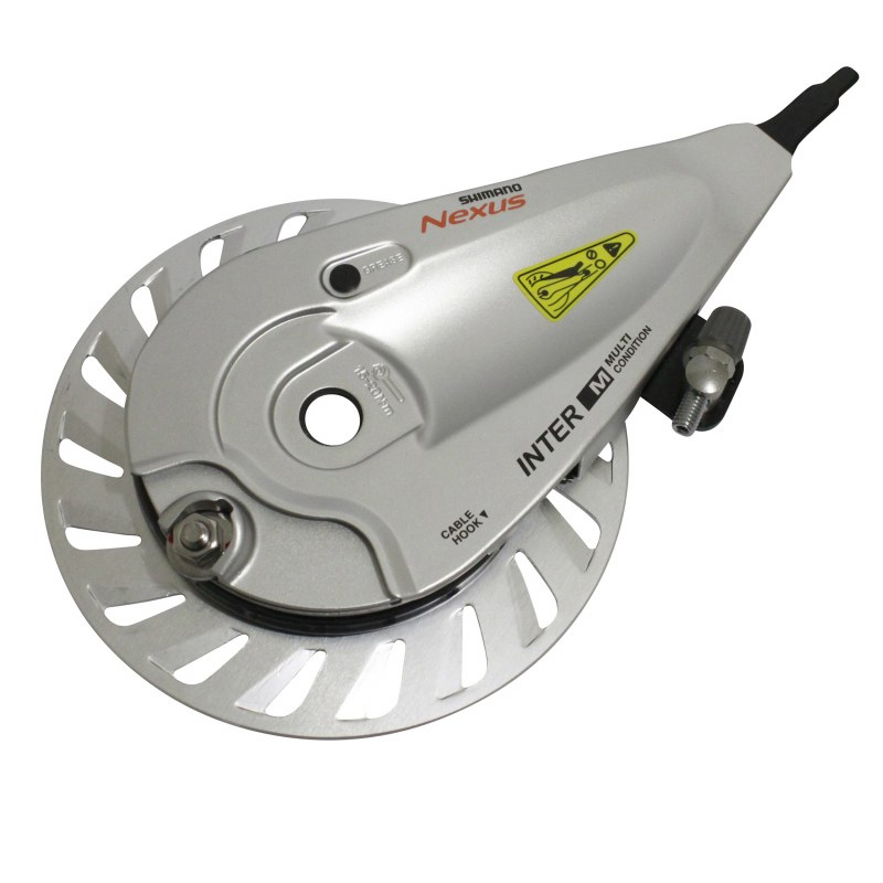 Etrier de frein: Flasque de frein SHIMANO Br-c3010 nexus Roller brake Avant City Diam 140mm