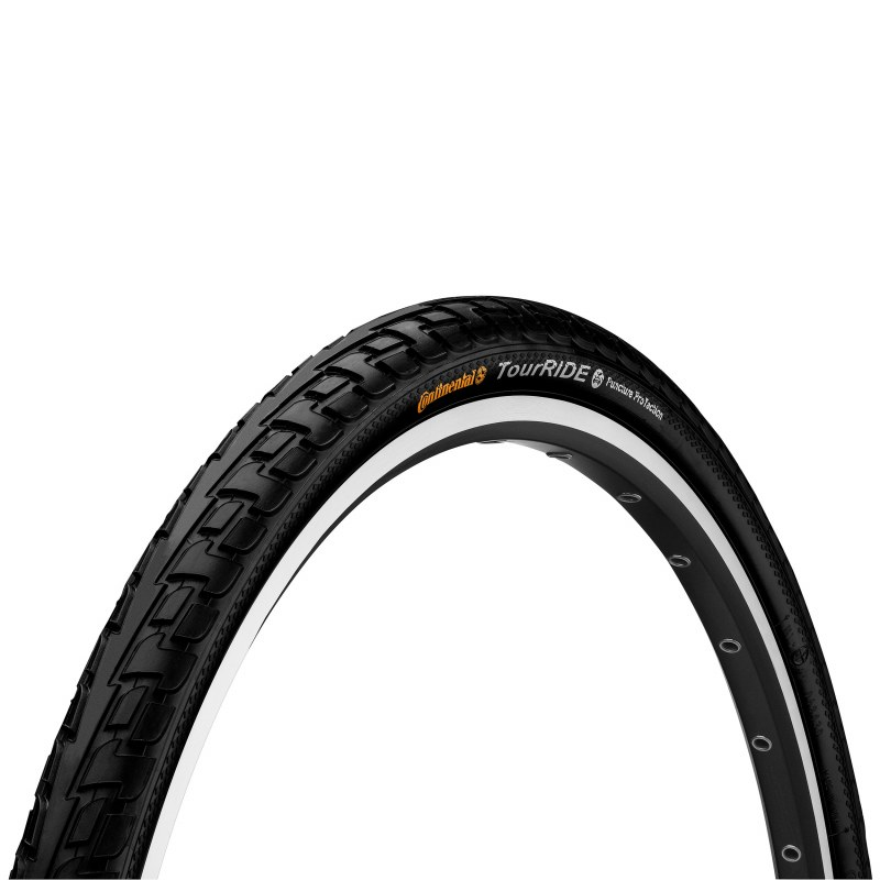 Pneu CONTINENTAL Tour ride Loisir City/VTC TT TR 42-622 Noir 28 700x42 Urbain 28x1.6 Protection anti-crevaison 770 g