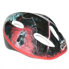 Casque DISNEY Star wars City S/M 52/56 Enfant Noir/rouge