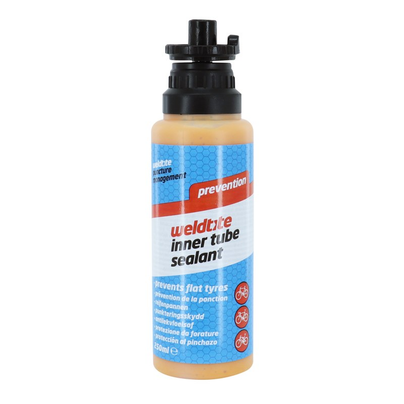 Prevention pneumatique: Preventif anti-crevaison WELDTITE DR SLUDGE Pour chambre à air 250 ml
