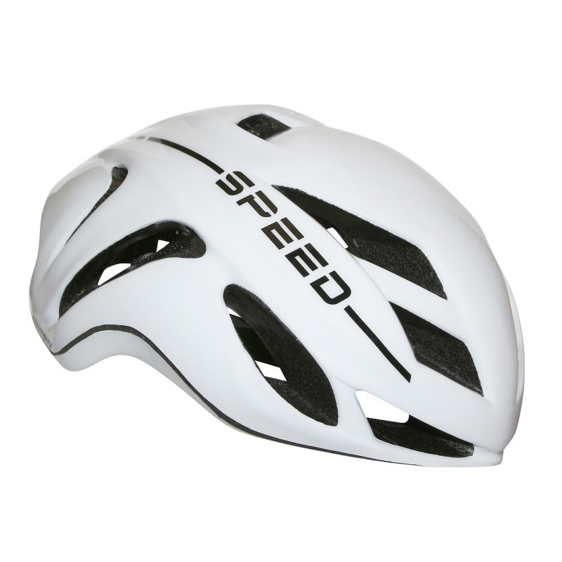 Casque NEWTON Speed In-mold Route S/M 55/58 Adulte H/F Blanc Avec lock