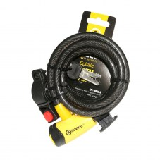 Antivol Spiral AUVRAY A cle 12 mm Avec support 1,80 m