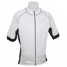 Maillot ICE L 42 Adulte H/F Blanc Zip intégral