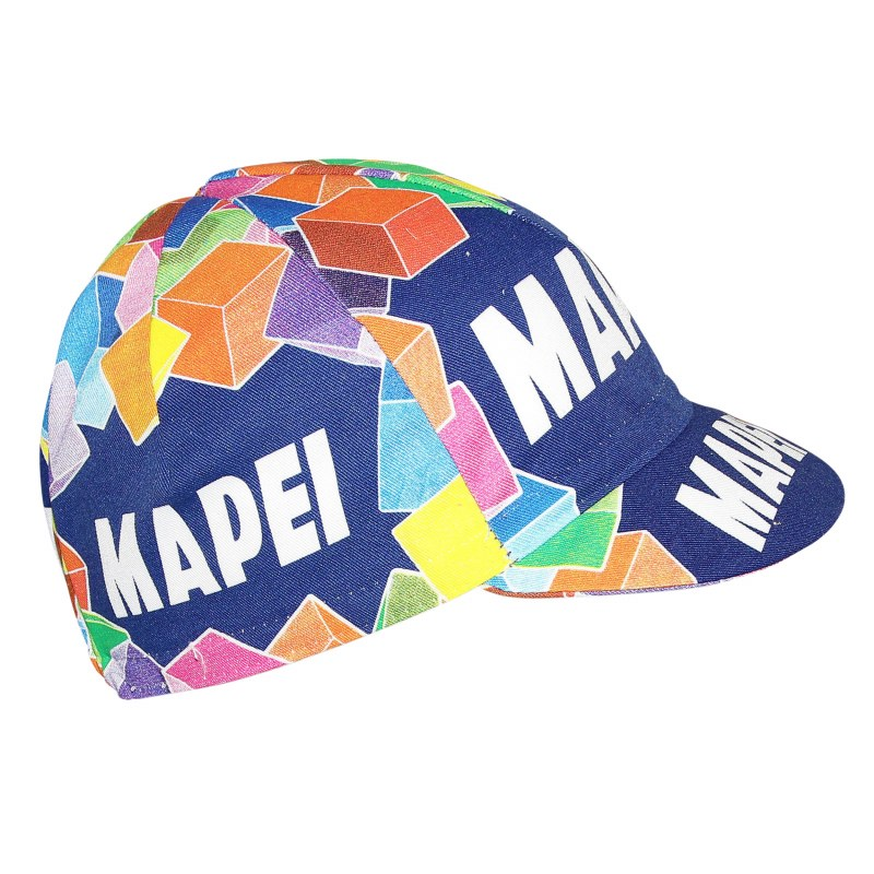 Casquette Equipe vintage Mapei Route Unique Adulte H/F Multicolor