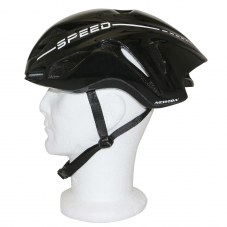 Casque NEWTON Speed In-mold Route S/M 55/58 Adulte H/F Noir Avec lock