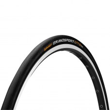 Pneu CONTINENTAL Grand sport race Compétition/sport Route TT TS 28-622 Noir 28 700x28 Route 180 tpi Protection anti-crevaison