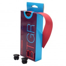 Guidoline: Ruban de guidon BIKERIBBON Grip evo Route Rouge