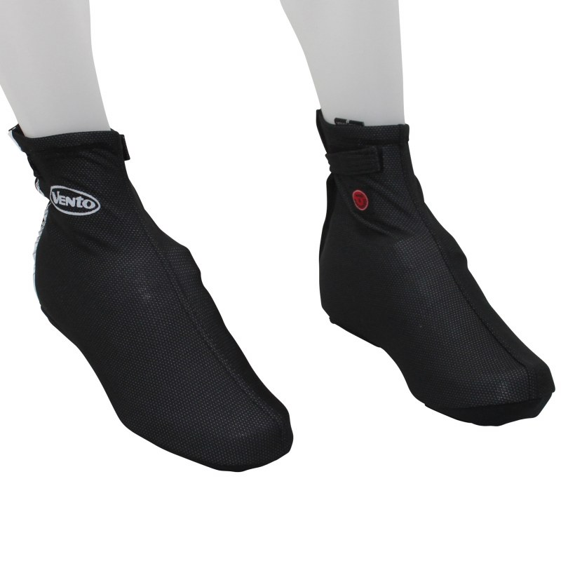 """Couvre-chaussure Hiver Route M Adulte H/F Noir Zips+""""scratch"""""""