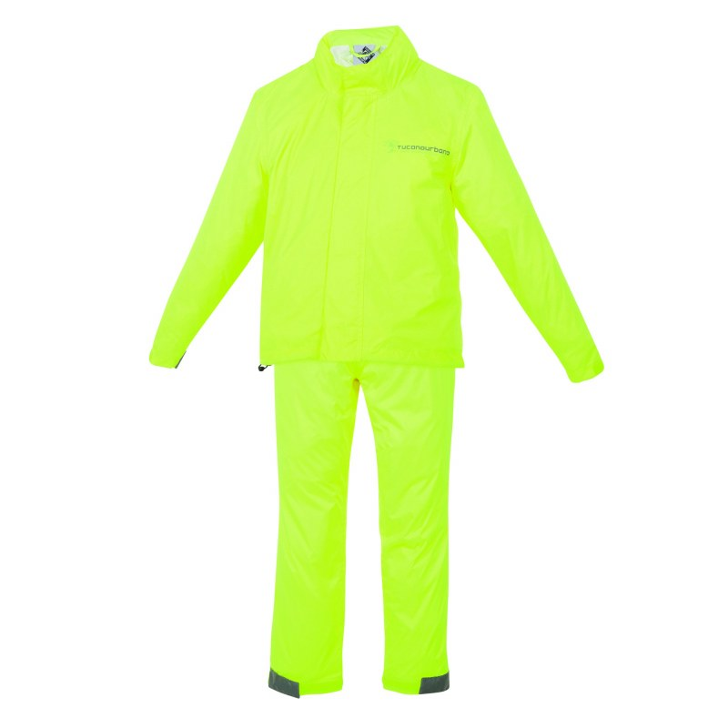 veste v tement de pluie 9 10ans enfant jaune fluo pack. Black Bedroom Furniture Sets. Home Design Ideas