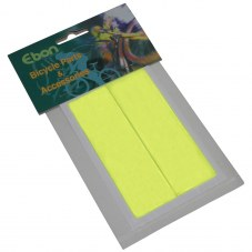 Eclairage: Autocollant Rectangle Jaune fluo 108mm x 34mm