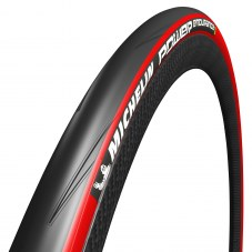 Pneu MICHELIN Power endurance Compétition Route TT TS 23-622 Rouge 28 700x23 Route 110 tpi Protection anti-crevaison 220 g