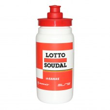 Bidon ELITE lotto soudal rouge 500ml