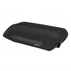 Sacoche: Housse protection batterie BASIL Miles Tube diagonal Urbain Polyester waterproof Noir 4,5 mm Neoprene