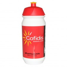 Bidon tacx cofidis rouge 500ml