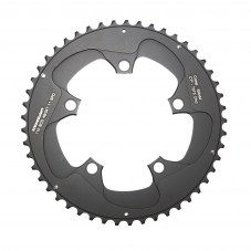 Plateau 5 branches STRONGLIGHT Compact SRAM Red/force 22 Extérieur Route 49 11 vitesses CT2 Noir 107 mm Compact, mono