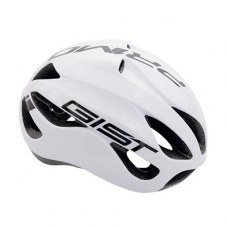 Casque GIST Primo Full in-mold Route L/XL 56/62 Adulte H/F Blanc/noir 250 g