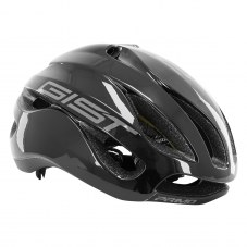 Casque GIST Primo Full in-mold Route L/XL 56/62 Adulte H/F Noir/gris 250 g