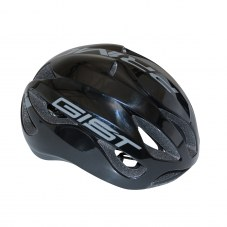 Casque GIST Primo Full in-mold Route S/M 52/58 Adulte H/F Noir/gris 250 g