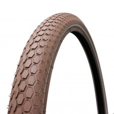Pneu VTT 26 x 2.00 CONTINENTAL ride cruiser retro marron tr  renfort 5mm homologue VAE-e-bike flanc reflex