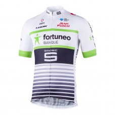 Maillot vélo equipe fortuneo  m