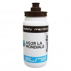 Bidon ELITE ag2r marron-blanc-bleu 500ml