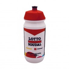 Bidon tacx lotto soudal blanc-rouge-noir 500ml