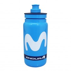 Bidon ELITE Movistar endura Bleu 0,3 l à 0,6 l 1