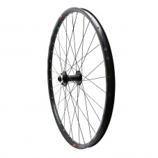 "Roue VTT 27.5"" klixx boost all mountain disque avant noir à roulements  6 trous compatible axe 15-110"