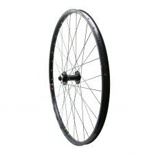 "Roue VTT 29"" klixx boost all mountain disque avant noir à roulements  6 trous compatible axe 15-110"