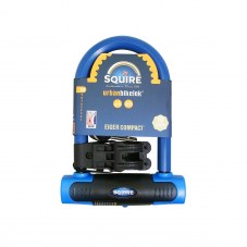 Antivol homologue U SQUIRE Eiger compact A cle Bleu 15,6 mm Avec support Sold secure niveau gold 83 mm 145 mm