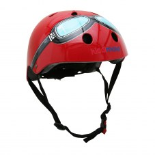 Casque vélo enfant kiddimoto google red rouge taille 53-58