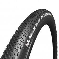 Pneu MICHELIN Power gravel tubeless ready Compétition Route TT TS 40-622 Noir