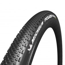 Pneu MICHELIN Power gravel tubeless ready Compétition Route TT TS 35-622 Noir