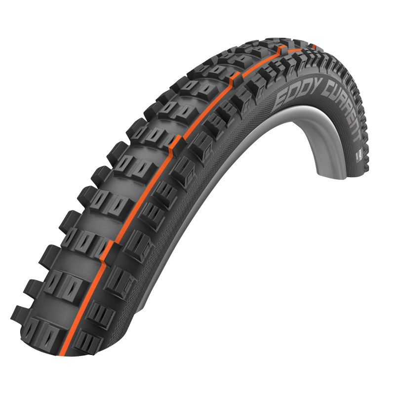 Pneu VTT 29 x 2.40 SCHWALBE eddy current front addix speed super gravity noir ts  tubetype-tubeless VAE-e-bike