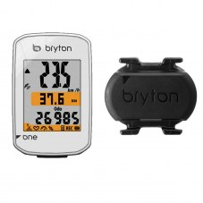 Compteurs Bryton gps Rider one c avec cadence pedalage Blanc