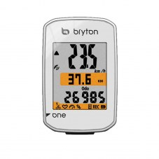 Compteurs Bryton gps Rider one e Blanc