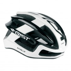 Casque GIST Volo Full in-mold Route L/XL 56/62 Adulte H/F Blanc/noir 210 g